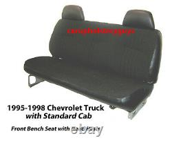 Chevrolet Truck Standard Cab Factory Replacement Front Seat Covers 1995-98