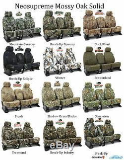 Coverking Custom Front Row Skanda Camo Seat Covers For Jeep Truck/SUVs