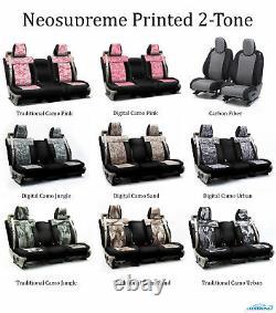 Coverking Custom Front Row Skanda Camo Seat Covers For Kia Truck/SUVs