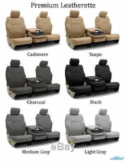 Coverking Custom Front and Rear Seat Covers For Dodge Truck SUVs