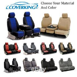 Coverking Custom Front and Second Row Seat Covers For Ford Truck SUVs