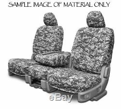 Custom Fit Camouflage Seat Covers for Chevy Silverado Pickup Truck