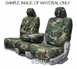 Custom Fit Camouflage Seat Covers for Dodge Ram Pickup Truck