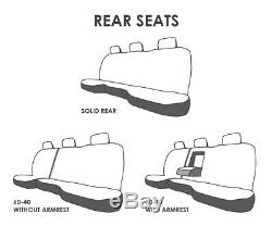 Custsomized Truck Seat Covers Fits 2010-2020 Dodge Ram 1500 Embroidered ABF