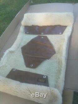 EDDIE BAUER Vintage(70s/80s) MERINO SHEEPSKIN Car/Truck Seat Cover LIKE MINT