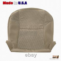 FOR 2010 Toyota Tacoma Truck Driver Bottom Tan Cloth Replacement Seat Cover