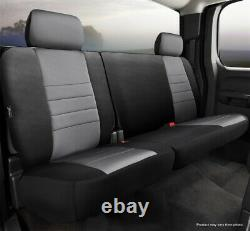 Fia NP92-38 GRAY Neo Neoprene Custom Fit Truck Seat Covers