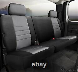 Fia NP92-83 GRAY Neo Neoprene Custom Fit Truck Seat Covers Fits 07-21 Tundra