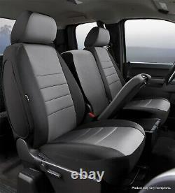 Fia NP97-28 GRAY Neo Neoprene Custom Fit Truck Seat Covers