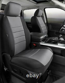 Fia NP98-35 GRAY Neo Neoprene Custom Fit Truck Seat Covers