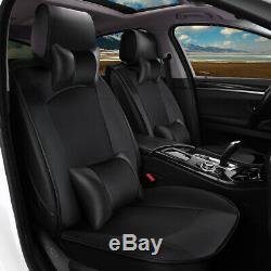 Fit For 2015 Chevy Silverado 1500 Seat Covers 2014-2019 4-Door Truck Cushion