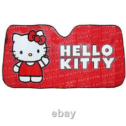 For Hyundai 10pc Hello Kitty Core Car Truck Seat Covers Mats Accessories Set
