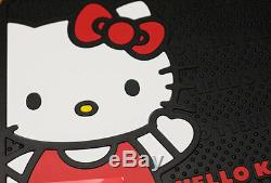 For Nissan 10pc Hello Kitty Core Car Truck Seat Covers Mats Accessories Set