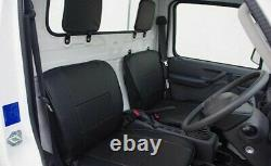 For Suzuki Carry Truck DA63T Early Model Apr/2012 PVC Leather Seat Cover Japan