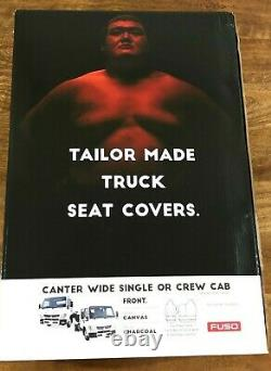 Genuine Fuso Canter Wide Single or Crew Cab Truck Seat Covers Oct 2016 Onwards