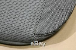 Grey Cloth OEM Factory Seat Covers 2018 F150 Crew Cab Truck Take Off