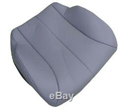 International truck air ride drivers seat cover bottom gray vinyl