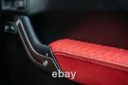 Jeep Wrangler Jk (2013-2018) 4 Door Leather Interior By Chelsea Truck Company