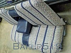 NOS Ford Blue Saddle Blanket Seat Cover 1987-1991 F150 F250 F350 Pickup Truck