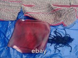 NOS Ford Dk Red Saddle Blanket Seat Cover 1987-1991 F150 F250 F350 Pickup Truck