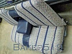 NOS Ford Lt Blue Saddle Blanket Seat Cover 1987-1991 F150 F250 F350 Pickup Truck