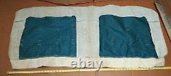 NOS GM 1968 Chevy truck (cab) blue seat cover 2pc set not sure if for pickup