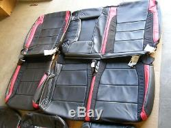 NOS OEM Ford 2017 2018 Shelby Raptor Truck Leather Seat Covers Set SVT Interior