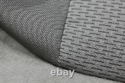 OEM 17-21 SUPER DUTY Gray Cloth Seat Covers F250 XLT Crew Cab Truck New Take Off