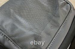 OEM Factory 15-22 F150 LARIAT Black Leather Seat Covers CREW CAB Truck