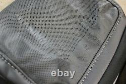 OEM Factory 2021-2022 F150 Truck LARIAT Black Leather Seat Covers CREW CAB