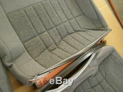 OEM Ford 1992 1996 F150 Truck S Bench Seat Covers Cloth Grey nos 1993 1994 1995