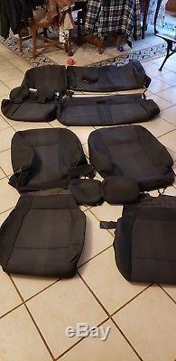 OEM Ford Take-off 2015 F150 Sport Seat Covers Cloth Super Cab