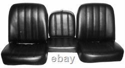 PUI 67TS30U Front Buddy Bucket Seat Covers 1967-1968 Chevrolet Truck Seat Uphols
