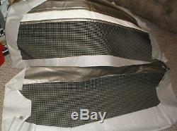 Seat cover 1960-1966 chevy gmc custom cab NOS pickup truck 60 61 62 63 64 65 66