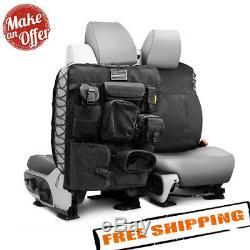 Smittybilt 5661301 G. E. A. R. Black Universal Truck Seat Cover Pair