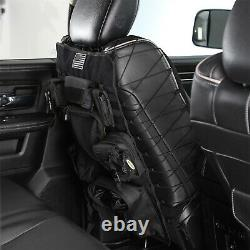 Smittybilt 5661301 Gear Truck Front Seat Cover in Black Includes 7 Pouches