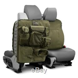 Smittybilt 5661331 G. E. A. R. Front OD Green Universal Truck Seat Cover Pair