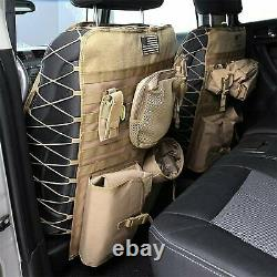 Smittybilt G. E. A. R. Universal Truck Seat Cover (Coyote Tan) 5661324