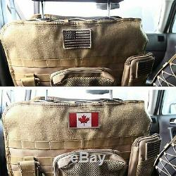 Smittybilt G. E. A. R. Universal Truck Seat Cover (Coyote Tan) 5661324