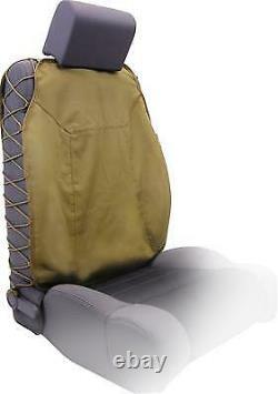 Smittybilt G. E. A. R. Universal Truck Seat Cover (Tan) 5661324