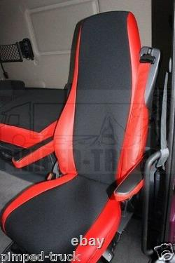 TRUCK SEAT COVERS SCANIA R/P 2005-2013 ECO LEATHER 2 the same seats
