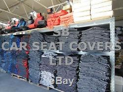 To Fit A Nissan Cabstar Van, Truck Spec, Seat Covers, 161 Fabric / Leatherette