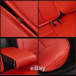 Truck Seat Cover Fit For Ford F150 2010-2019 Truck Full Set supercrew Waterproof