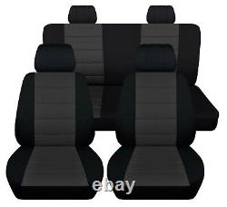 Truck Seat Covers 2014-2018 Jeep Wrangler 4 Door Custom Fit Front Rear Seats ABF