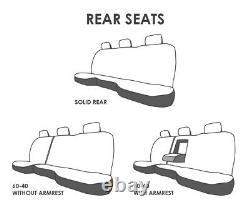 Truck Seat Covers Camo Design Black Insert 2014-2018 Chevy Silverado ABF