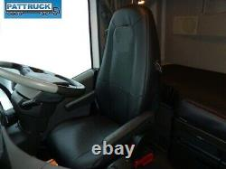 Truck Seat Covers Compatible With Volvo Fh4 2013-2019 Eco Leather Black