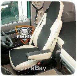 Truck Seat Covers Daf 105/cf Till 2012year Euro5 Eco Leather Seat Covers