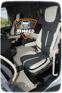 Truck Seat Covers Daf 106 / Daf Cf Euro6 Eco Leather Seat Covers New Design