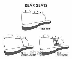 Truck Seat Covers Fits 2003 Dodge Ram Quad Cab American Flag Design