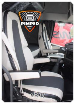Truck Seat Covers Volvo Fh4 Beige Eco Leather Seat Covers